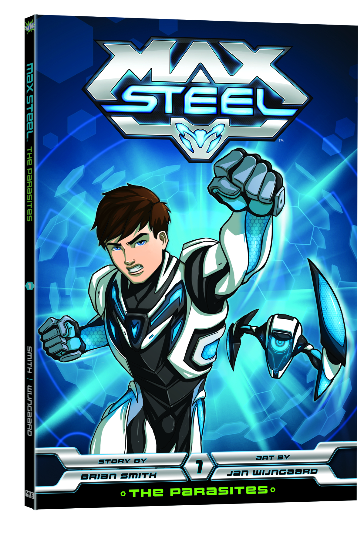 MAX STEEL GN THE PARASITES