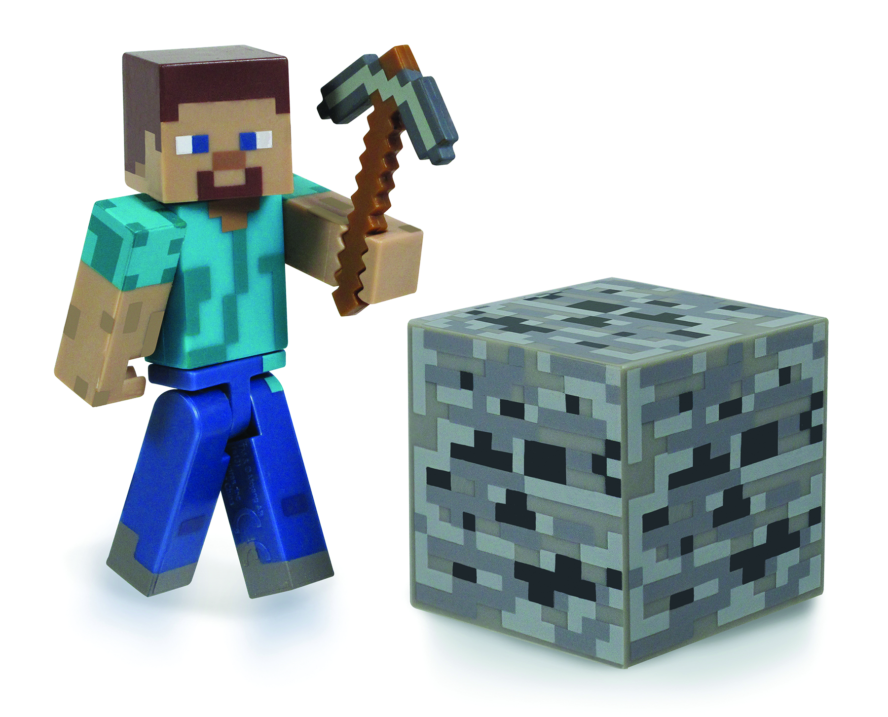 MINECRAFT CORE 3IN STEVE W/ACCESSORY CS