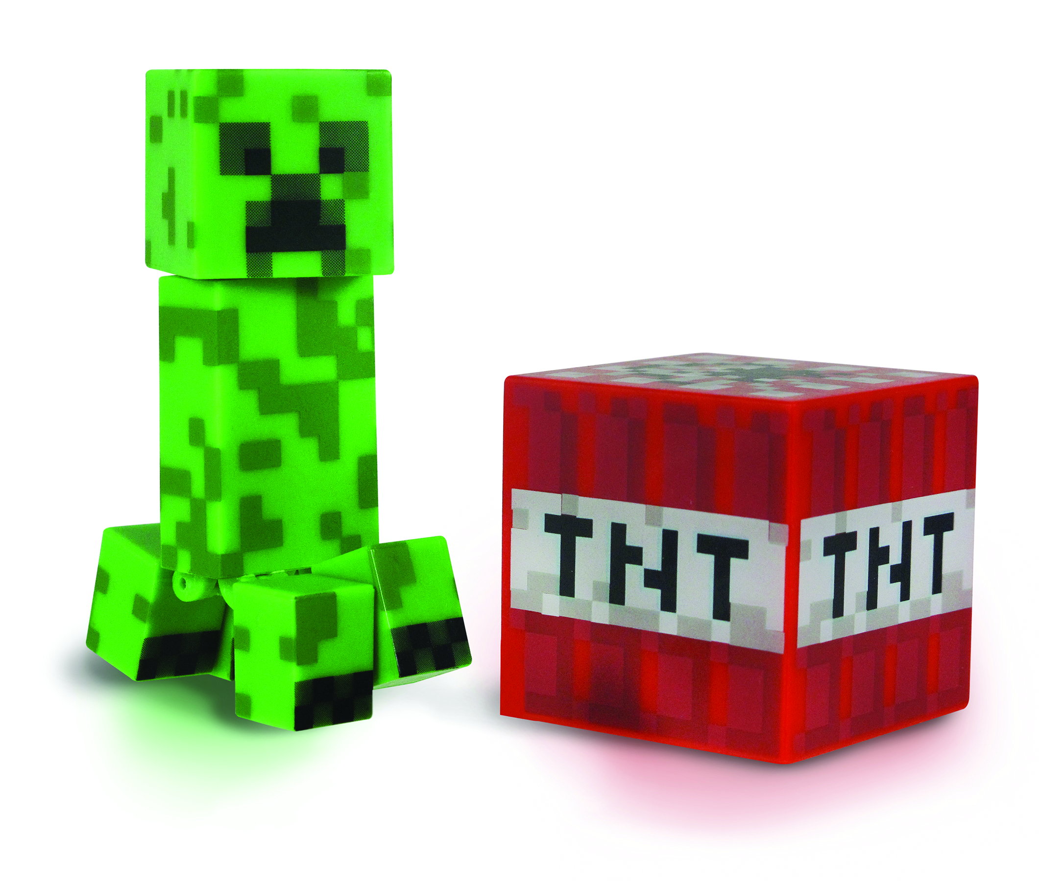 MINECRAFT CORE 3IN CREEPER W/ACCESSORY CS