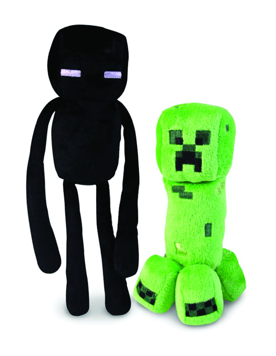 MINECRAFT CORE 7IN PLUSH ASST