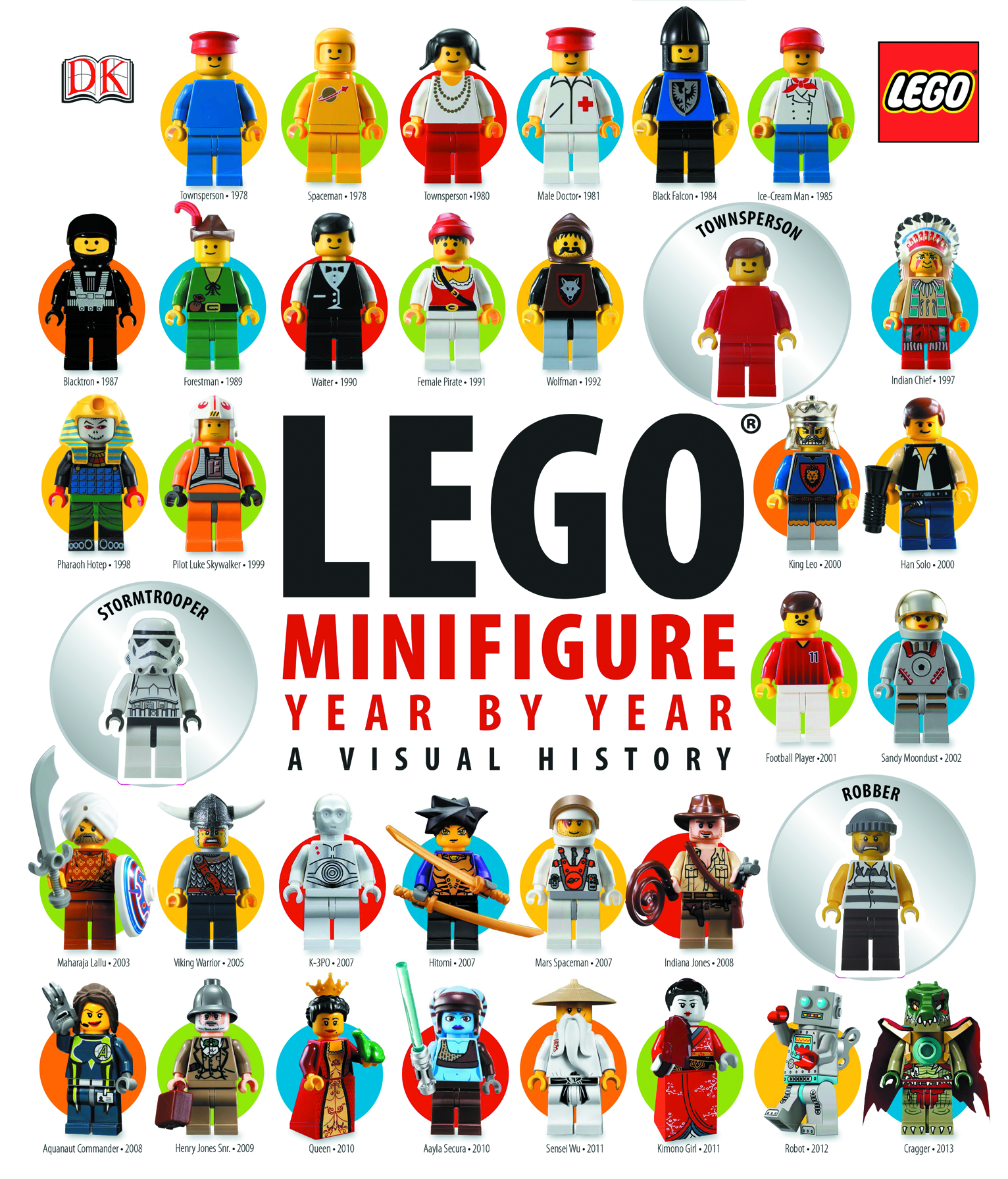 LEGO MINIFIGURE YEAR BY YEAR VISUAL CHRONICLE HC