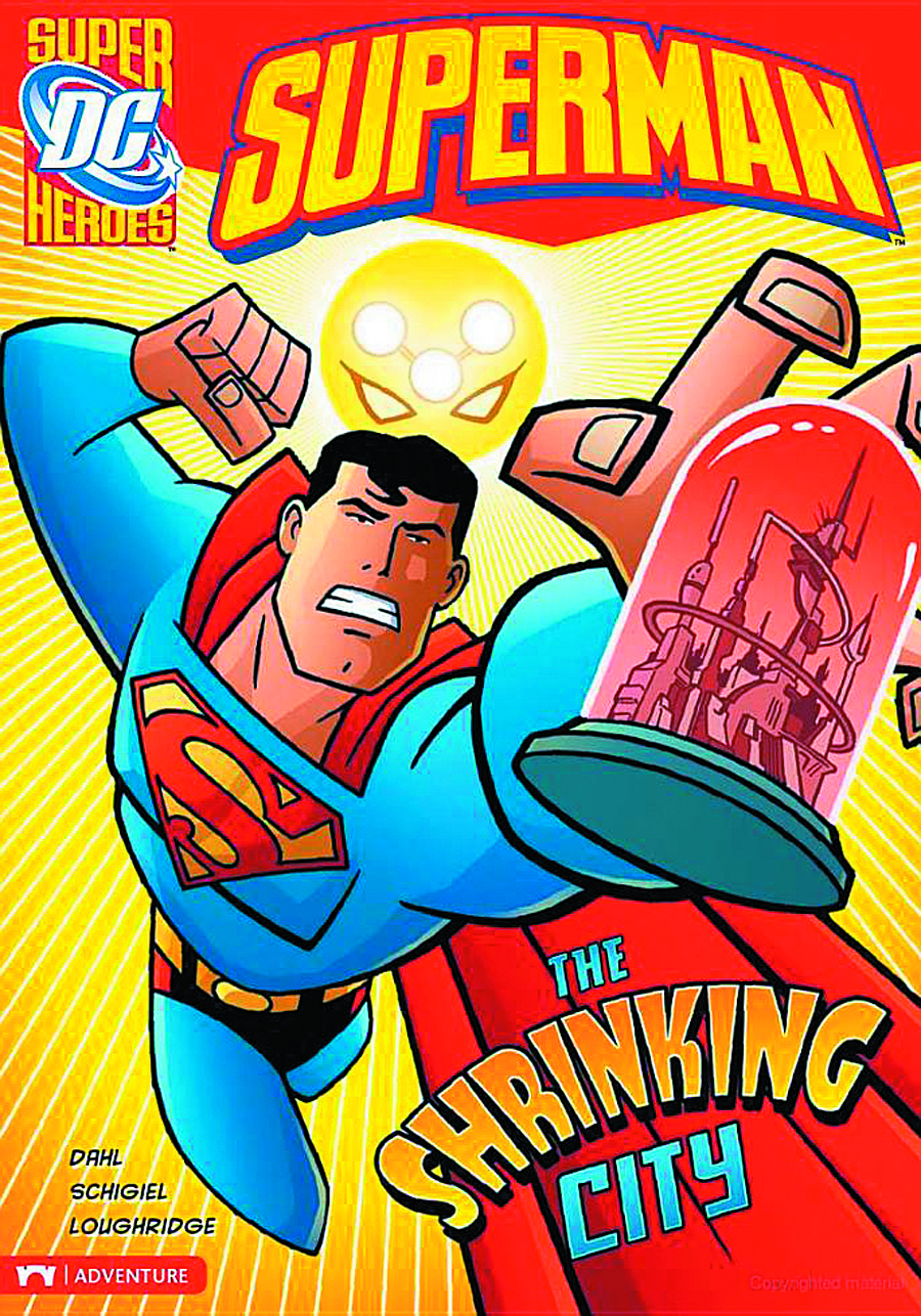 DC SUPER HEROES SUPERMAN YR TP SHRINKING CITY