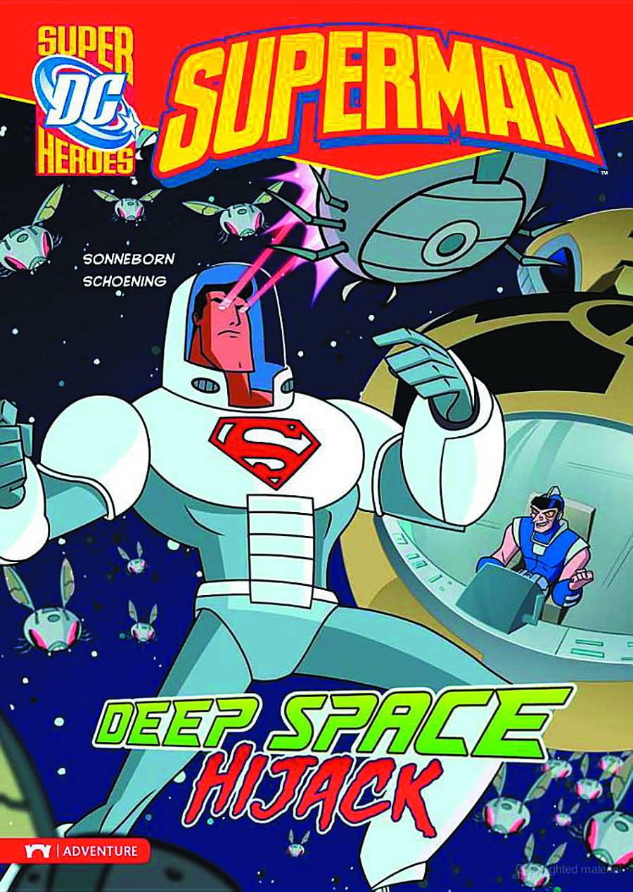 DC SUPER HEROES SUPERMAN YR TP DEEP SPACE HIJACK