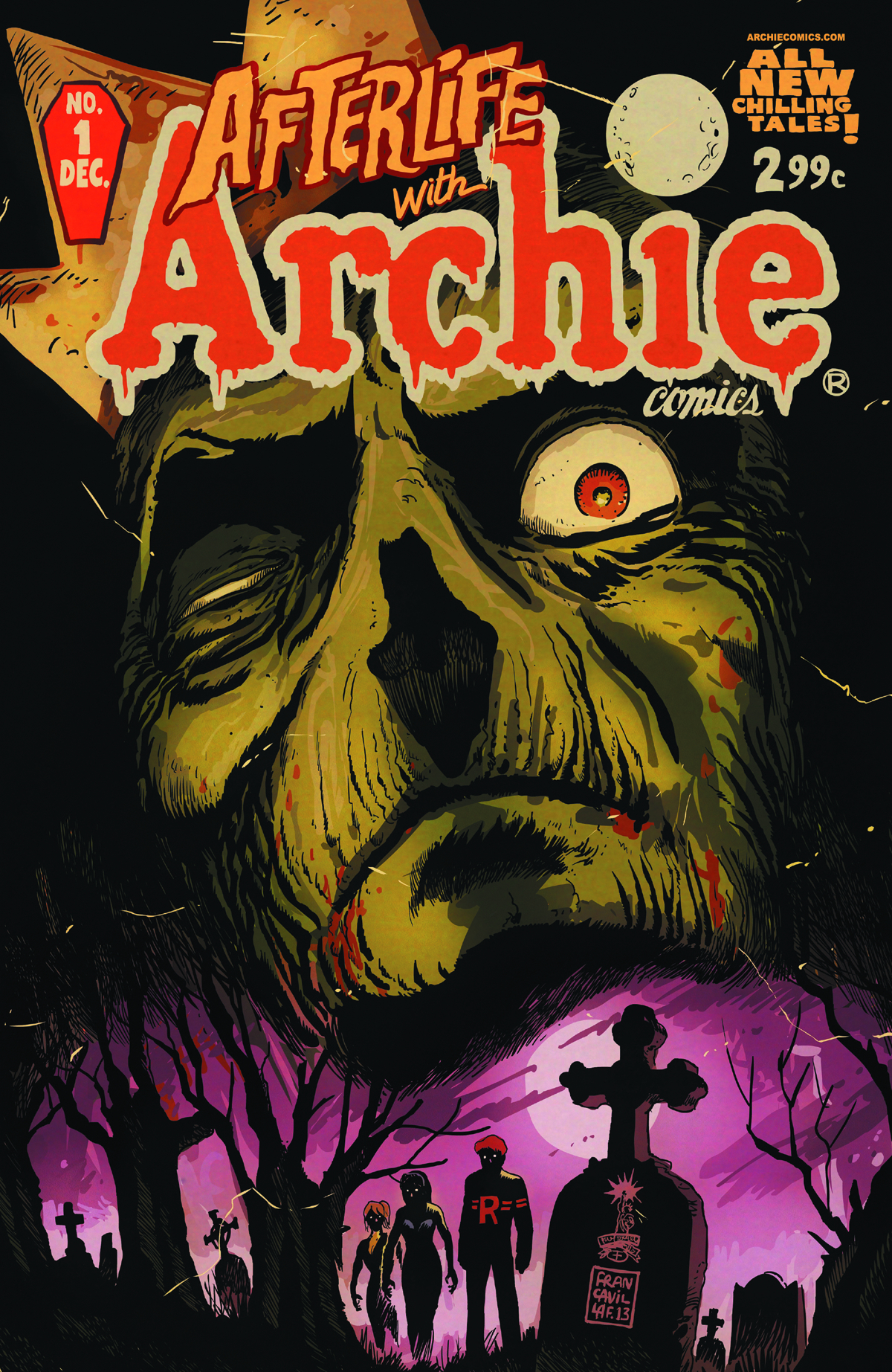 AFTERLIFE WITH ARCHIE #1 REG CVR
