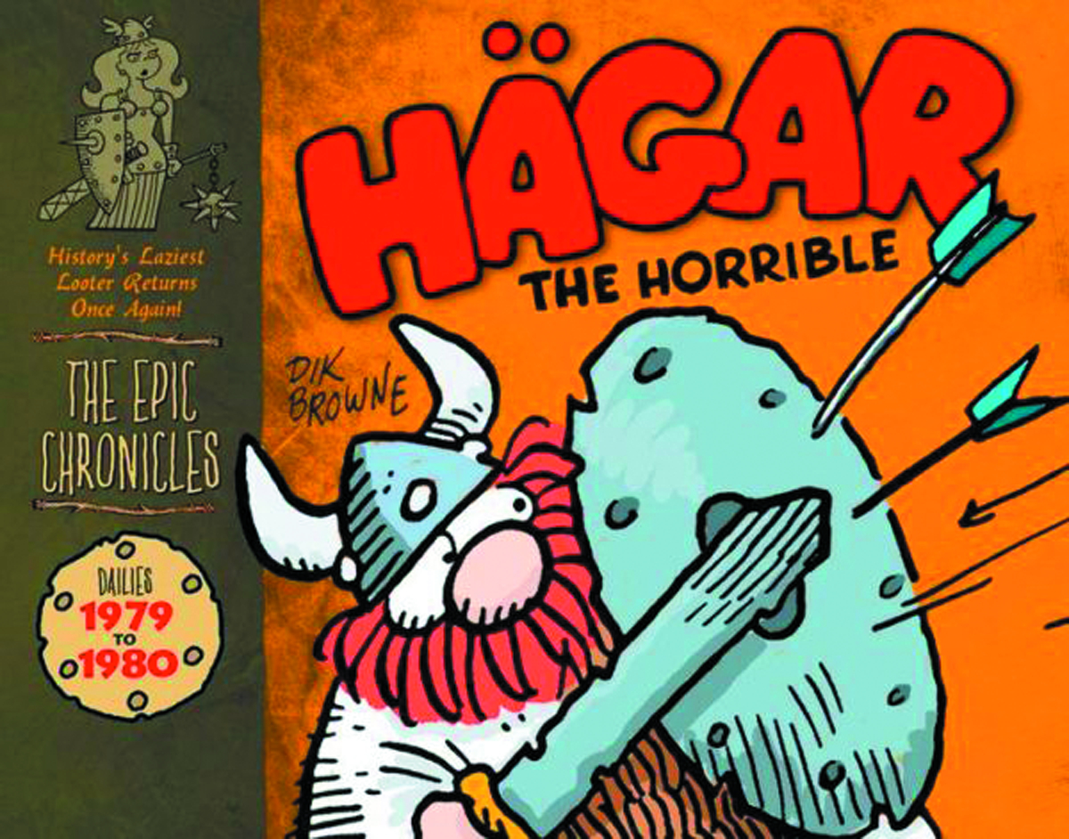 EPIC CHRONICLES HAGAR THE HORRIBLE HC 1979-80