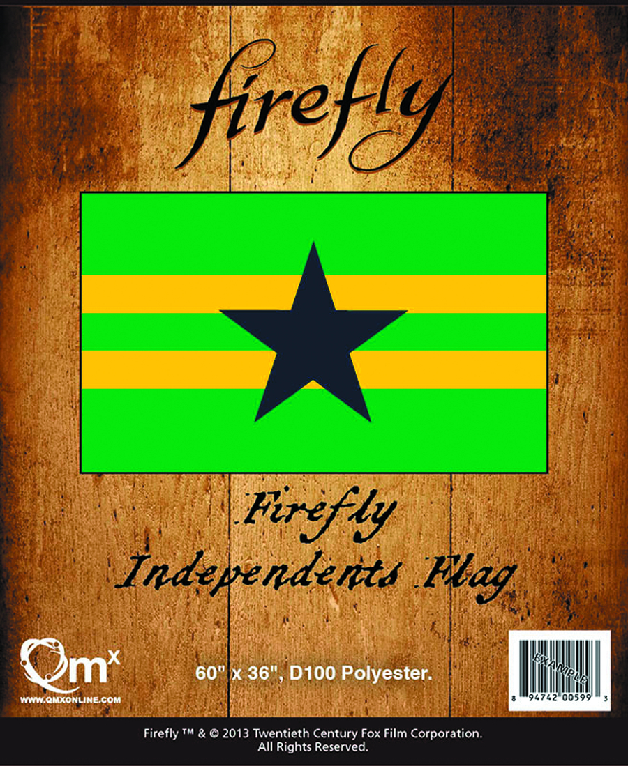 FIREFLY INDEPENDENCE FLAG