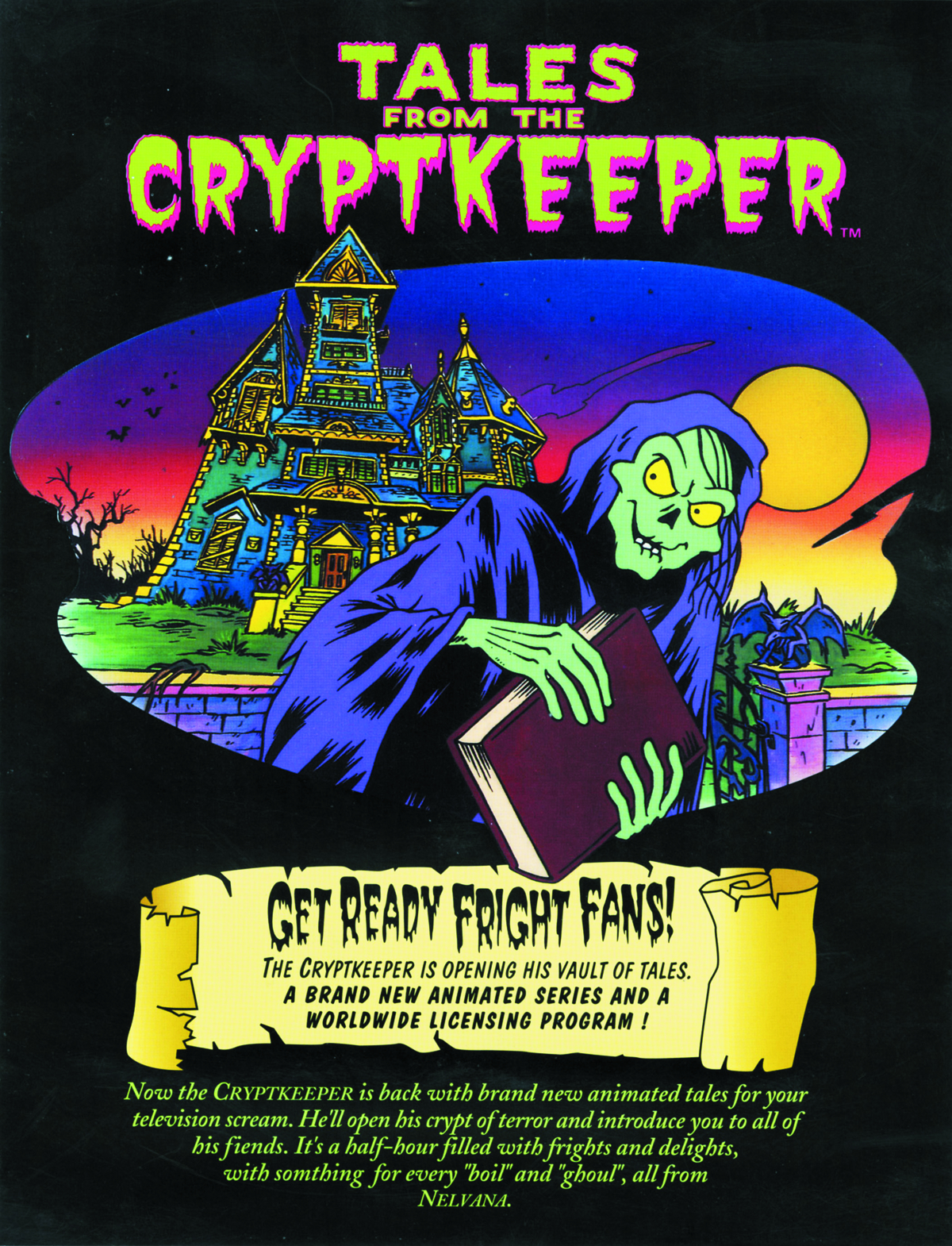 TALES OF CRYPTKEEPER PX LTD ED ANIMATION PORTFOLIO