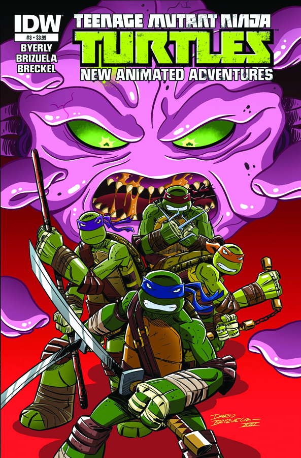 TMNT NEW ANIMATED ADVENTURES #3