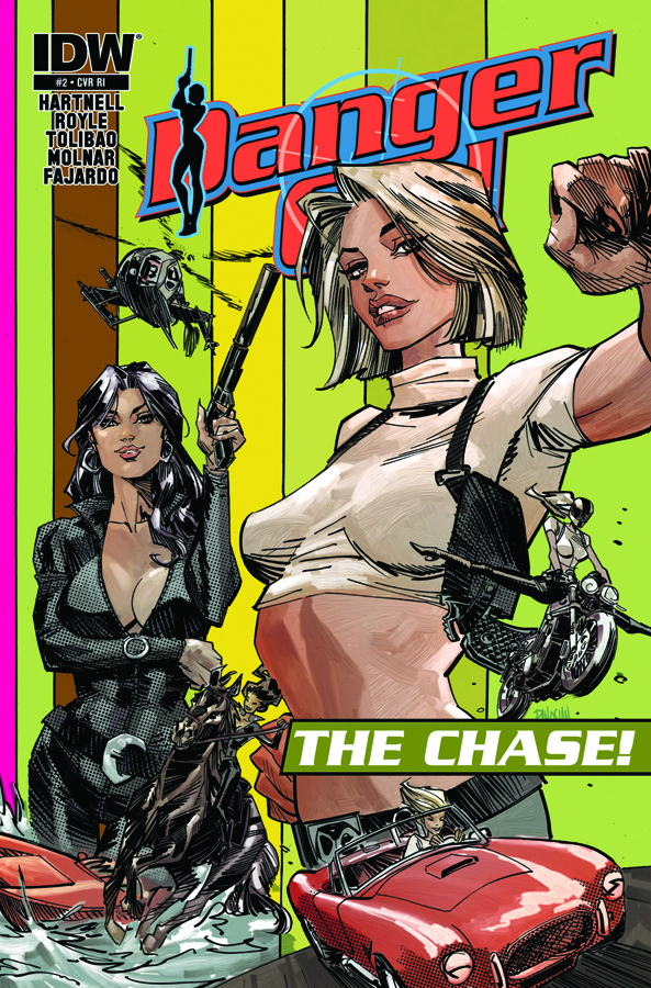 DANGER GIRL THE CHASE #1