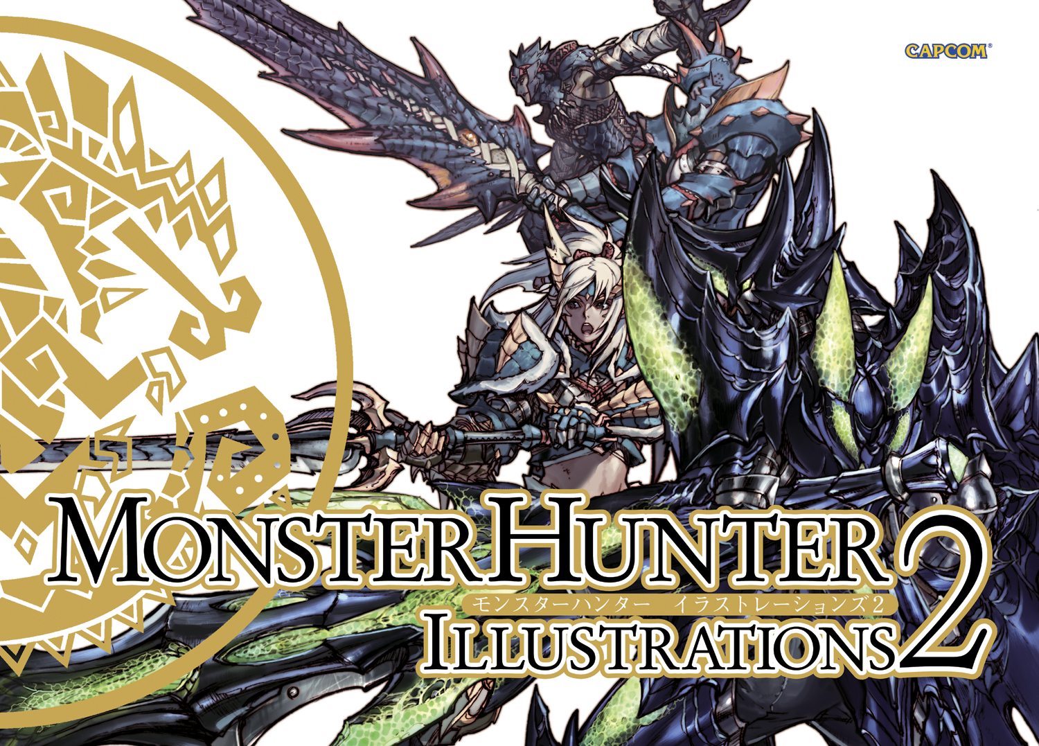 MONSTER HUNTER ILLUS SC VOL 02