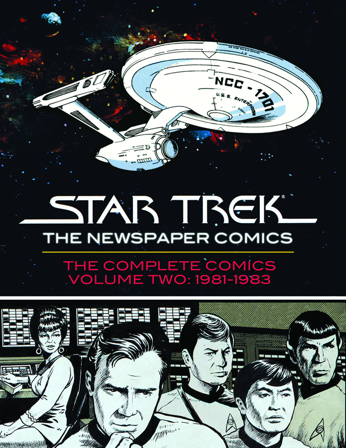STAR TREK NEWSPAPER STRIP HC VOL 02
