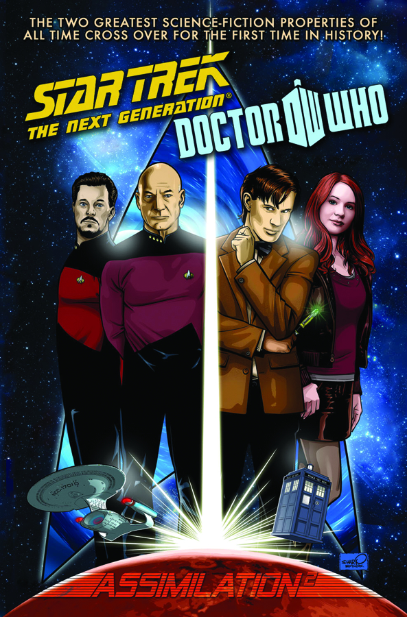 STAR TREK TNG DOCTOR WHO ASSIMILATION COMPLETE HC
