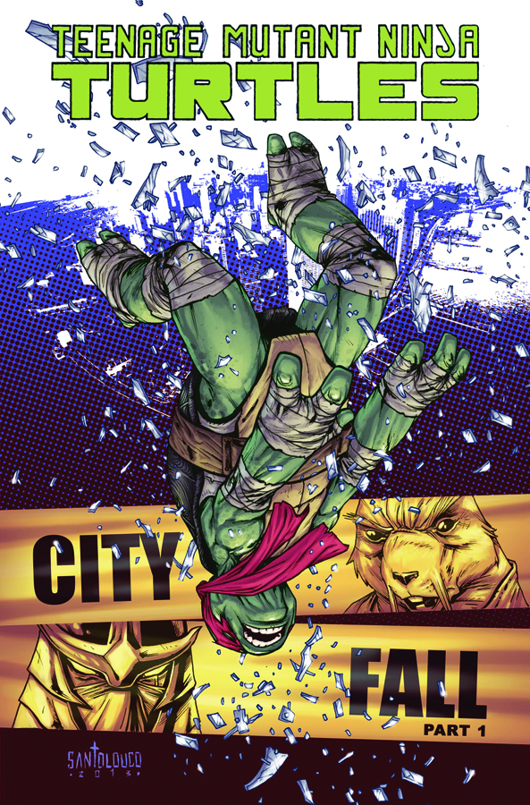 TMNT ONGOING TP VOL 06 CITY FALL PT 1