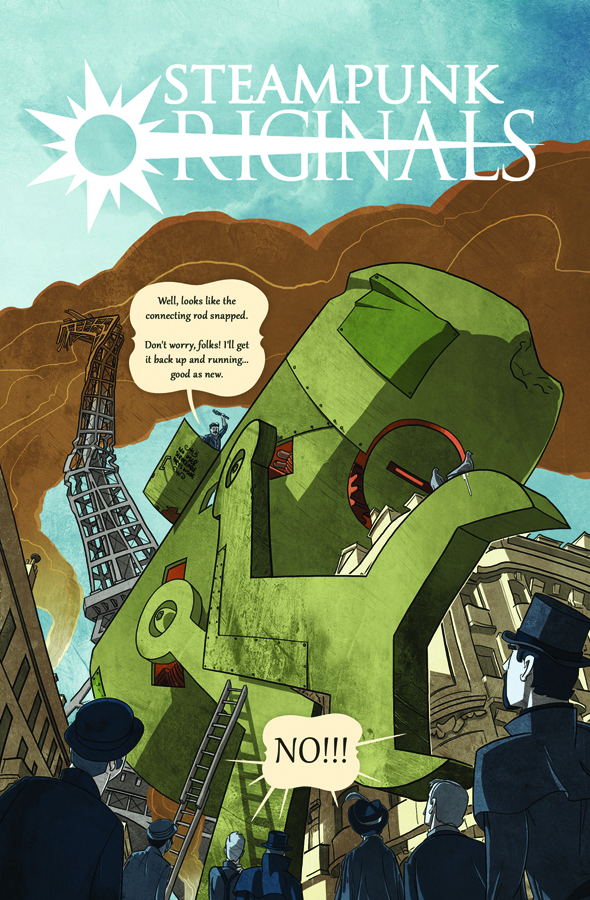 STEAMPUNK ORIGINALS GN VOL 01