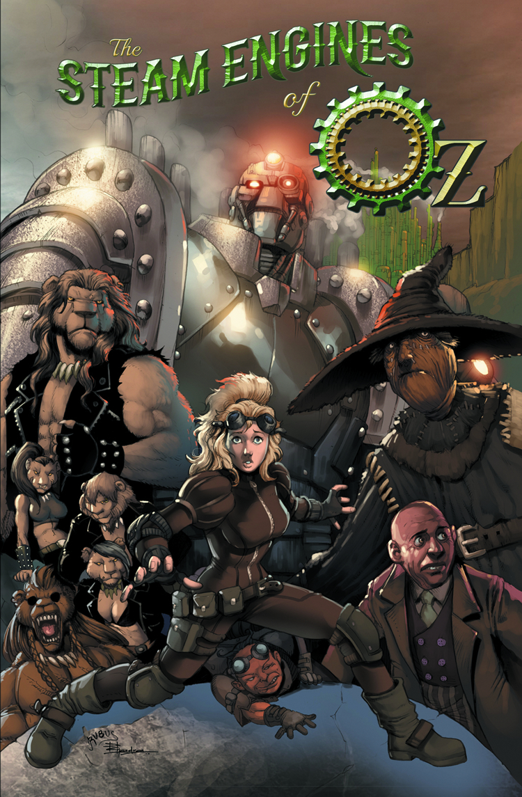 STEAM ENGINES OF OZ TP VOL 01