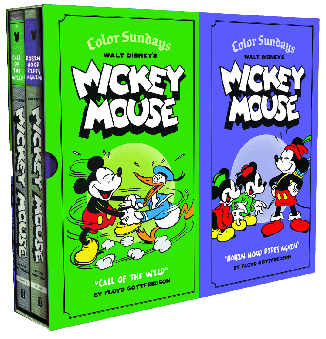 DISNEY MICKEY MOUSE COLOR SUNDAYS BOX SET VOL 01