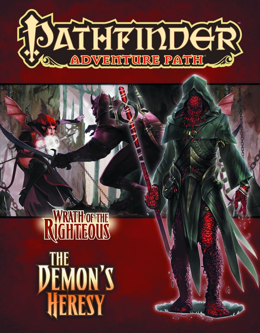 PATHFINDER AP WRATH O/T RIGHTEOUS PT 3 DEMONS HERESY