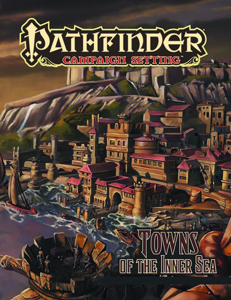 PATHFINDER CAMPAIGN SETTING TOWNS OF THE INNER SEA
