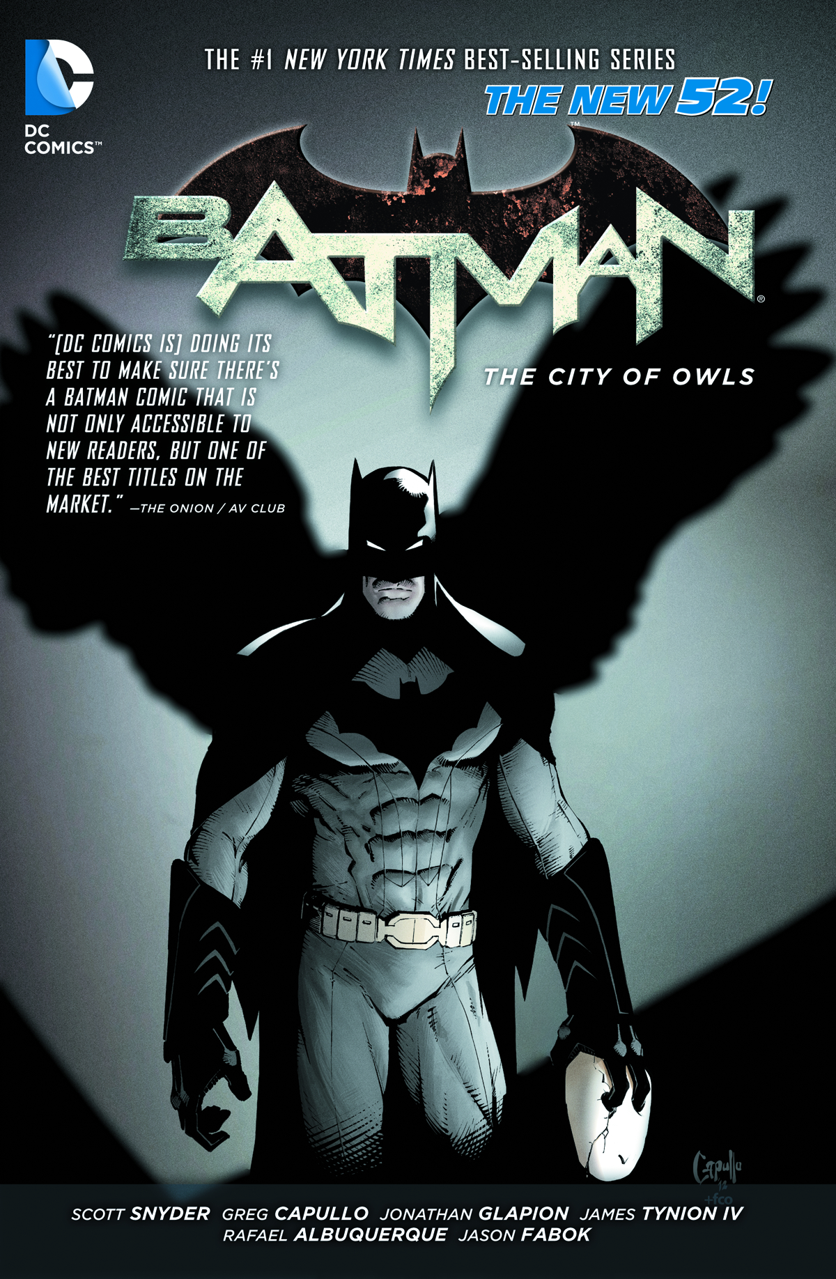 BATMAN TP VOL 02 THE CITY OF OWLS
