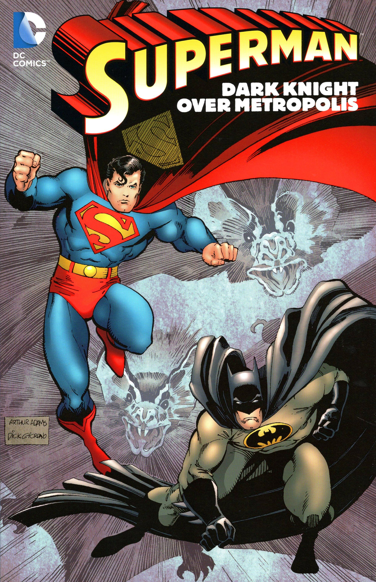 SUPERMAN DARK KNIGHT OVER METROPOLIS TP