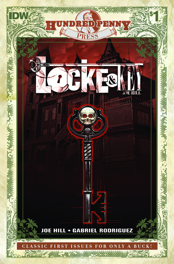 100 PENNY PRESS LOCKE & KEY #1