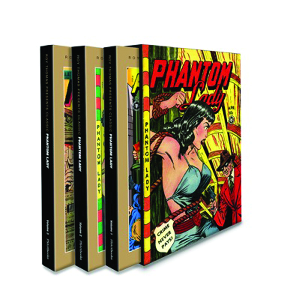 ROY THOMAS PRESENTS CLASSIC PHANTOM LADY TP BOXED SET