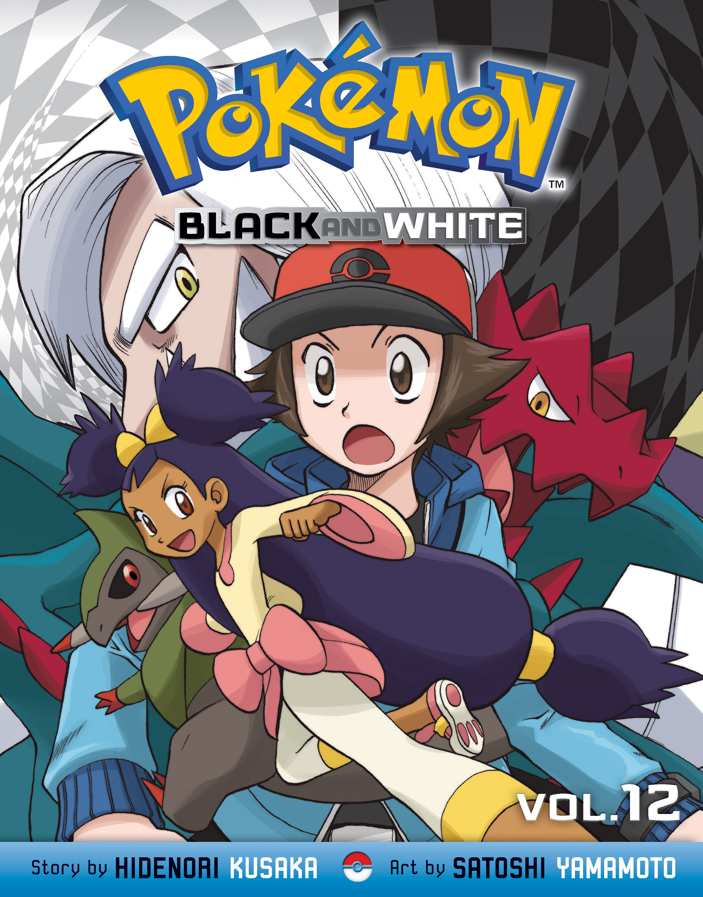 POKEMON BLACK & WHITE GN VOL 12