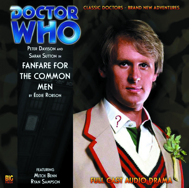 DOCTOR WHO FANFARE FOR COMMON MEN AUDIO CD