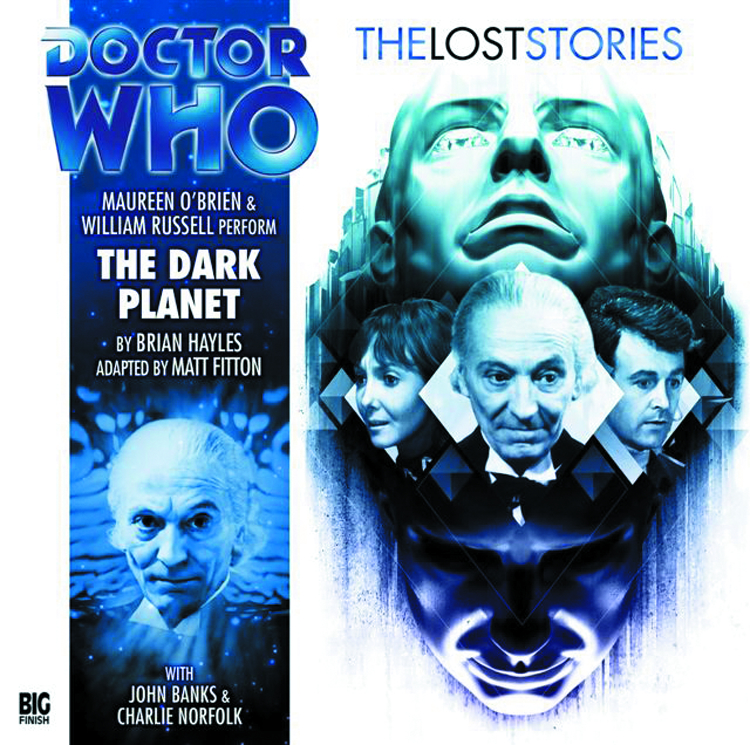 DOCTOR WHO LOST STORIES DARK PLANET AUDIO CD