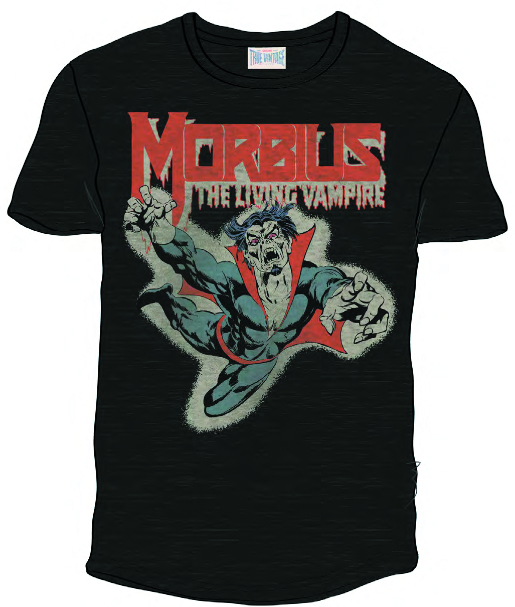 MORBIUS PX BLK T/S MED