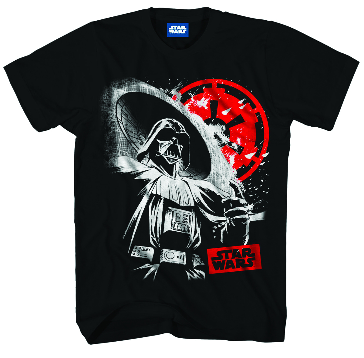 STAR WARS IM NOT SORRY PX BLK T/S LG