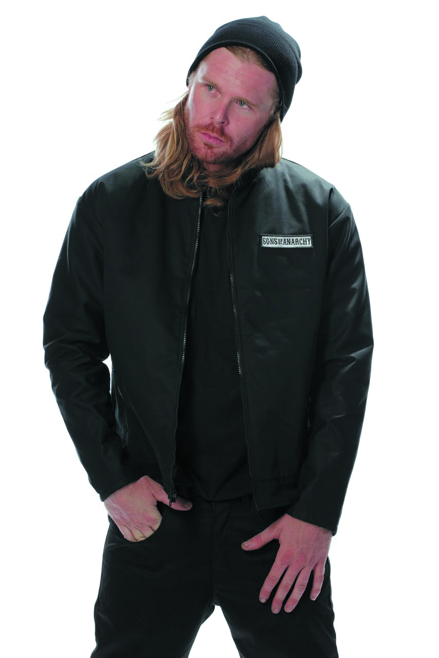 SONS OF ANARCHY LOGO MECHANIC JACKET MED