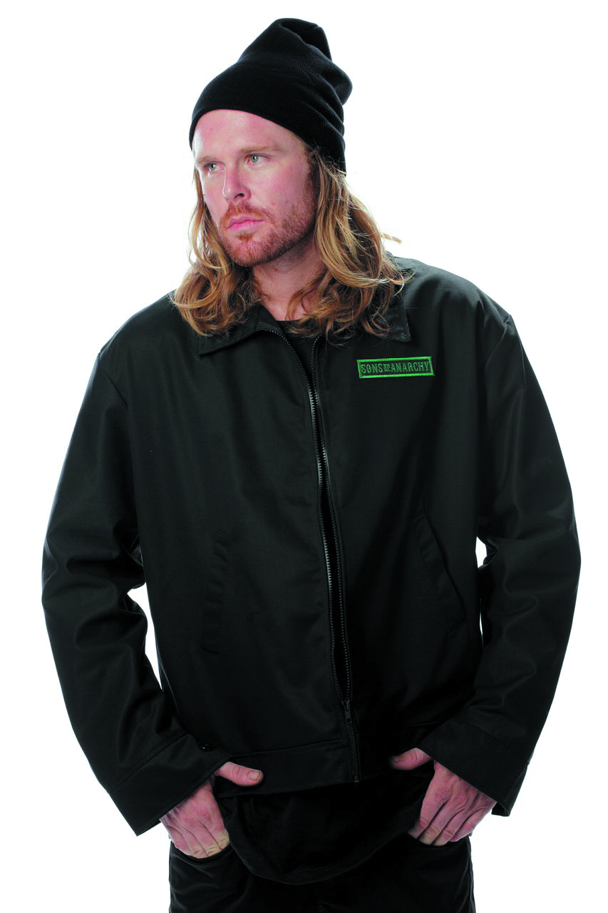 SOA IRELAND LOGO MECHANIC JACKET MED