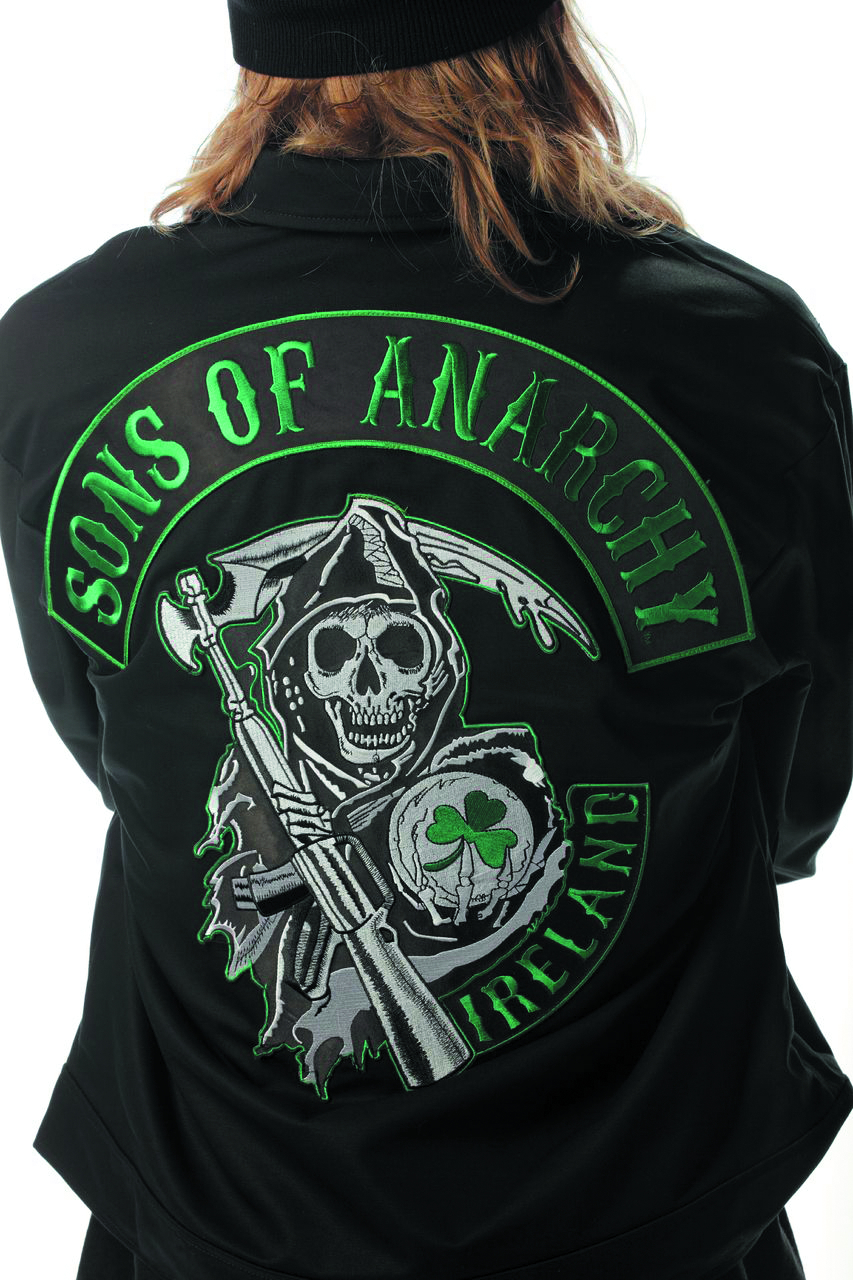 SOA IRELAND LOGO MECHANIC JACKET LG