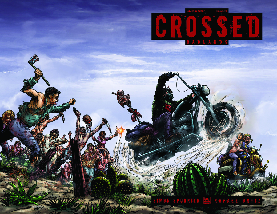 CROSSED BADLANDS #37 WRAP CVR