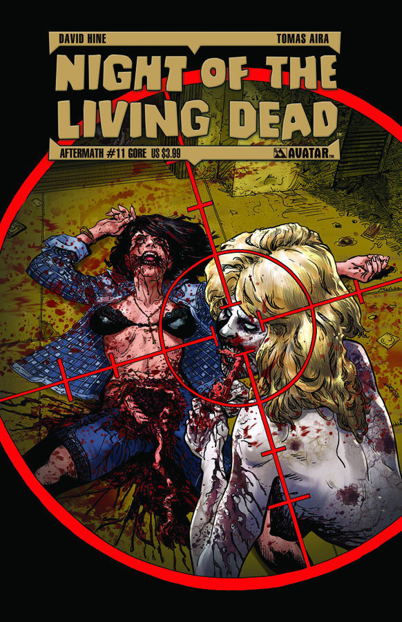 NIGHT O/T LIVING DEAD AFTERMATH #11 GORE CVR