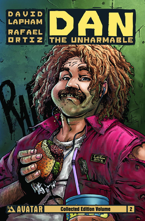 DAN THE UNHARMABLE TP VOL 02