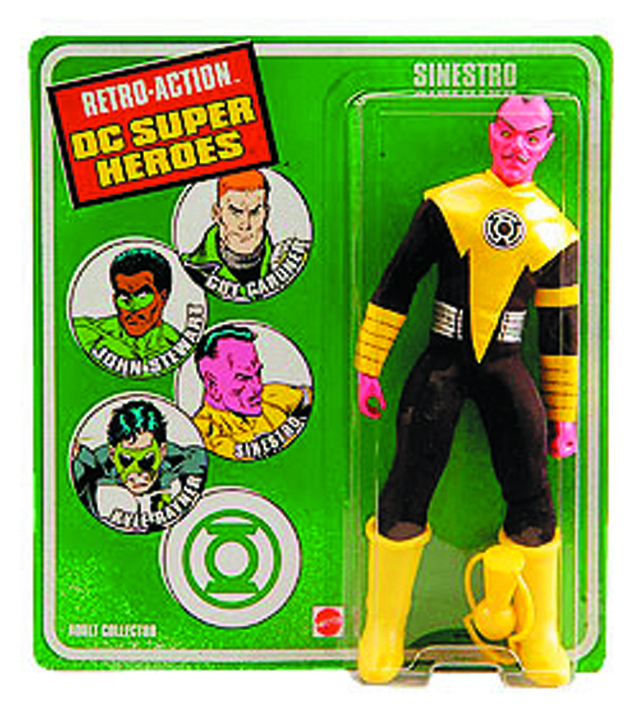 WORLDS GREATEST DC HEROES SINESTRO RETRO AF