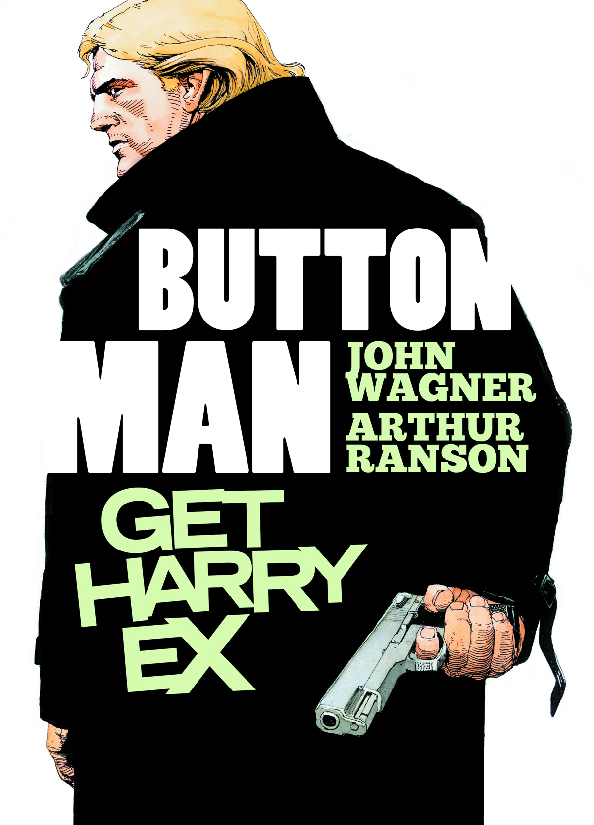 BUTTON MAN GET HARRY EX GN