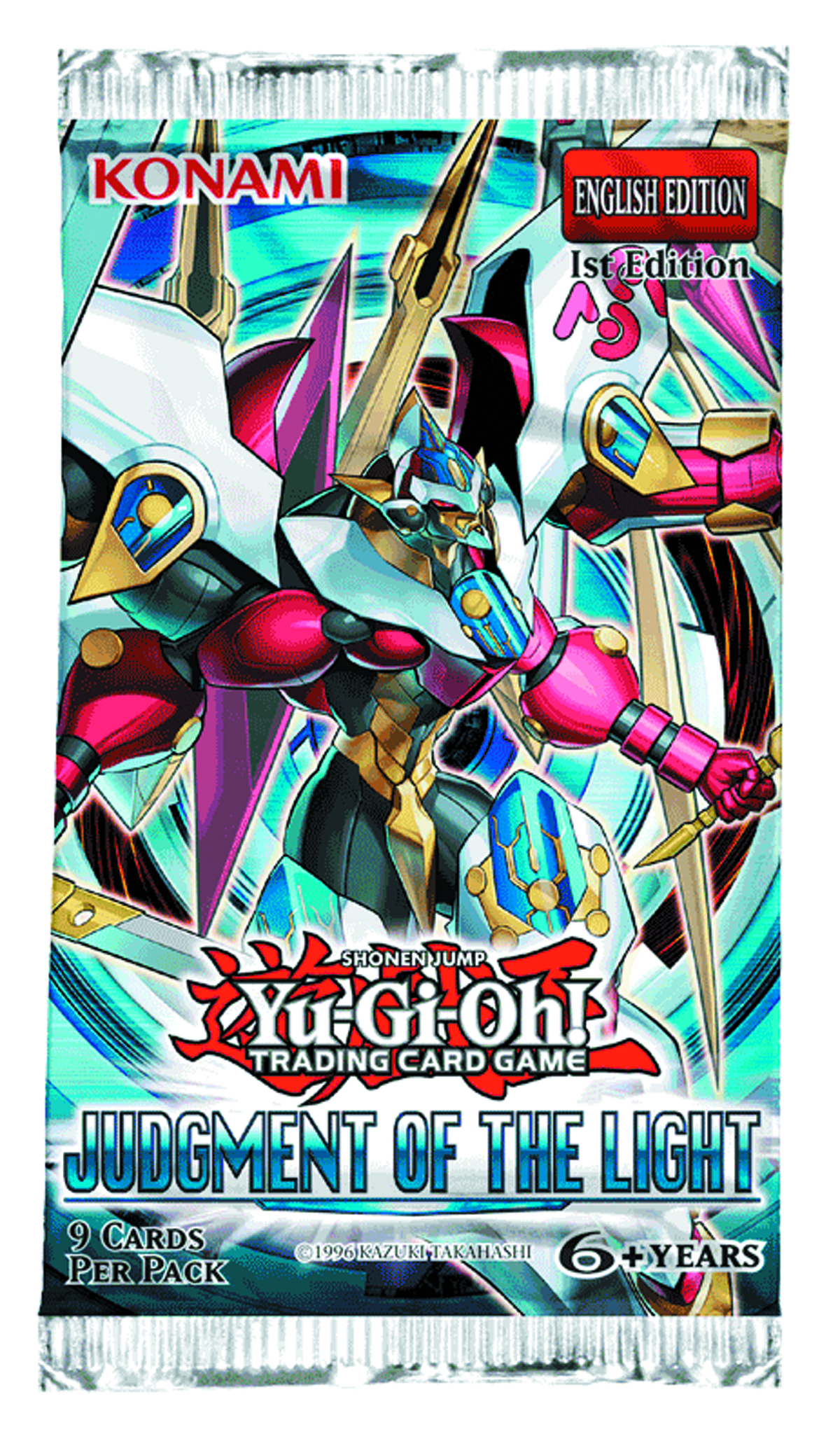 YU GI OH TCG JUDGMENT OF THE LIGHT BOOSTER DIS