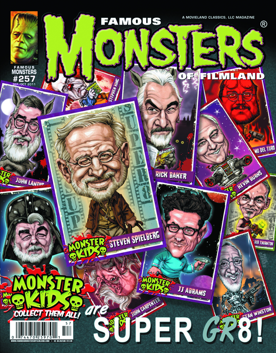 FAMOUS MONSTERS OF FILMLAND #257 MONSTER KIDS CVR