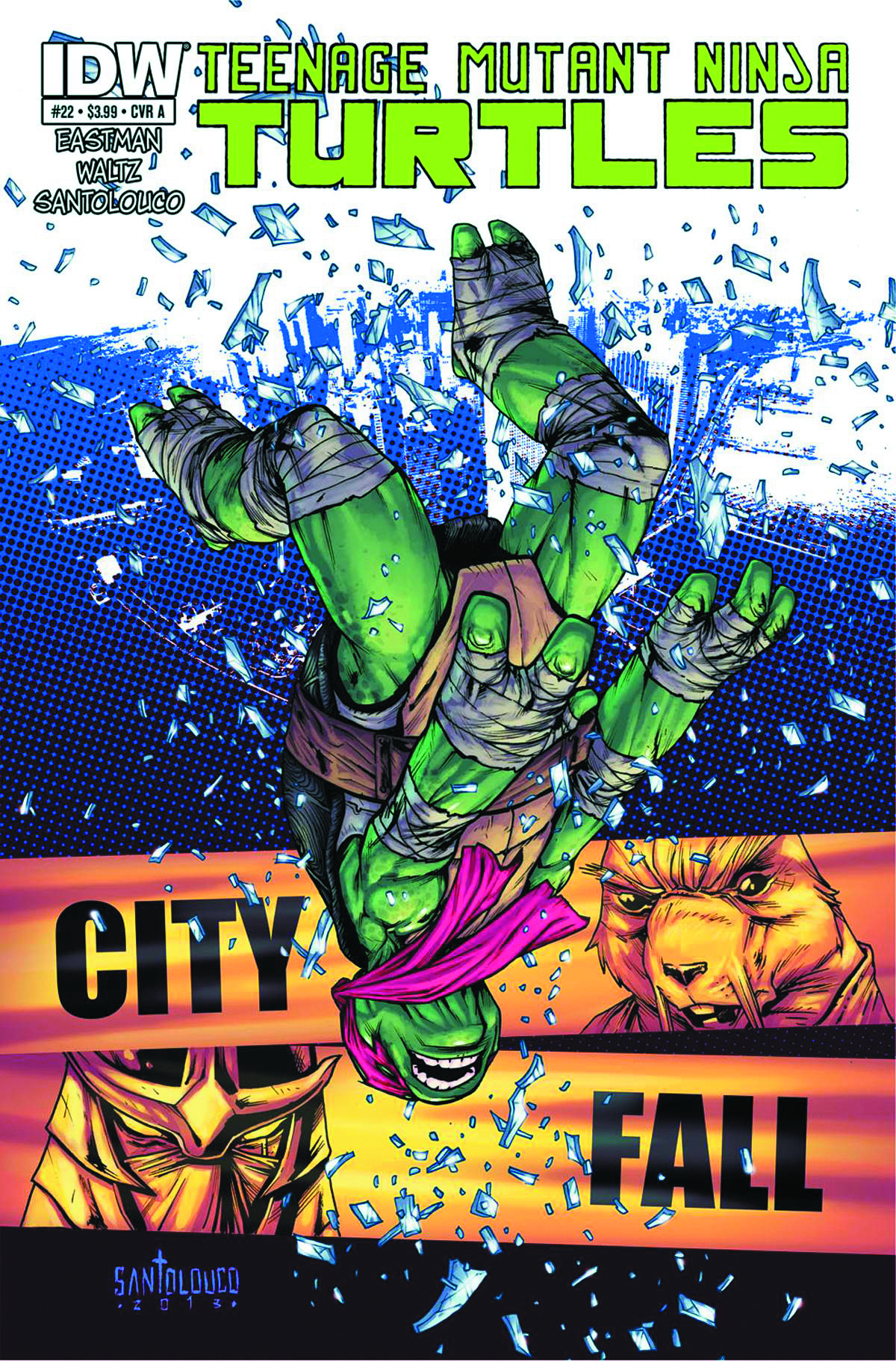 TMNT ONGOING #22 2ND PTG
