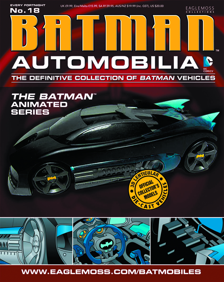 DC BATMAN AUTO FIG MAG #18 THE BATMAN ANIMATED SERIES