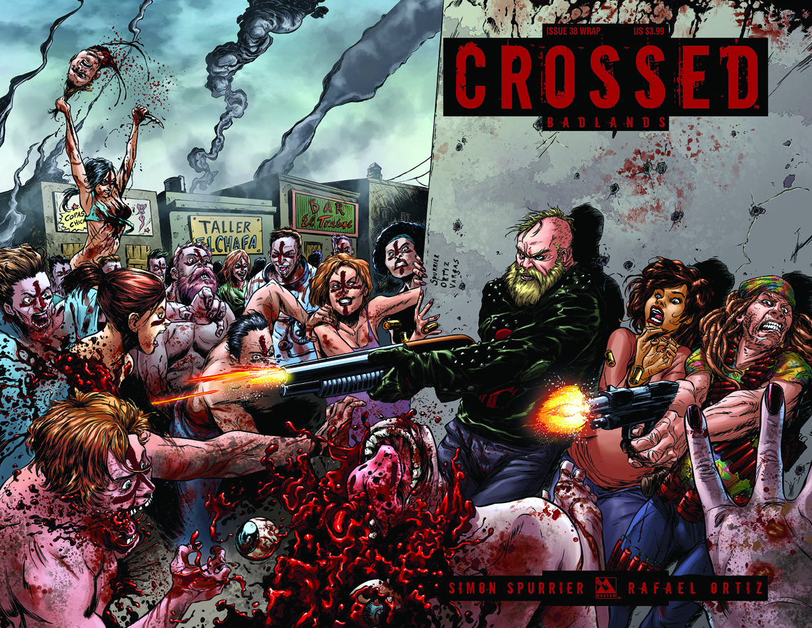 CROSSED BADLANDS #38 WRAP CVR