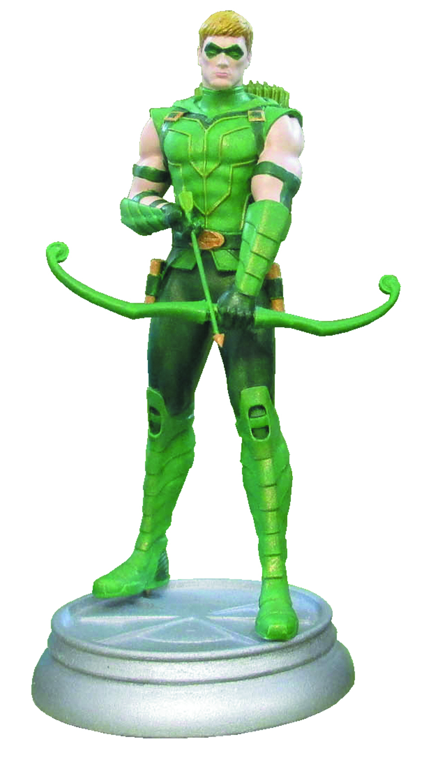 DC SUPERHERO CHESS FIG COLL MAG #43 GREEN ARROW WHITE PAWN