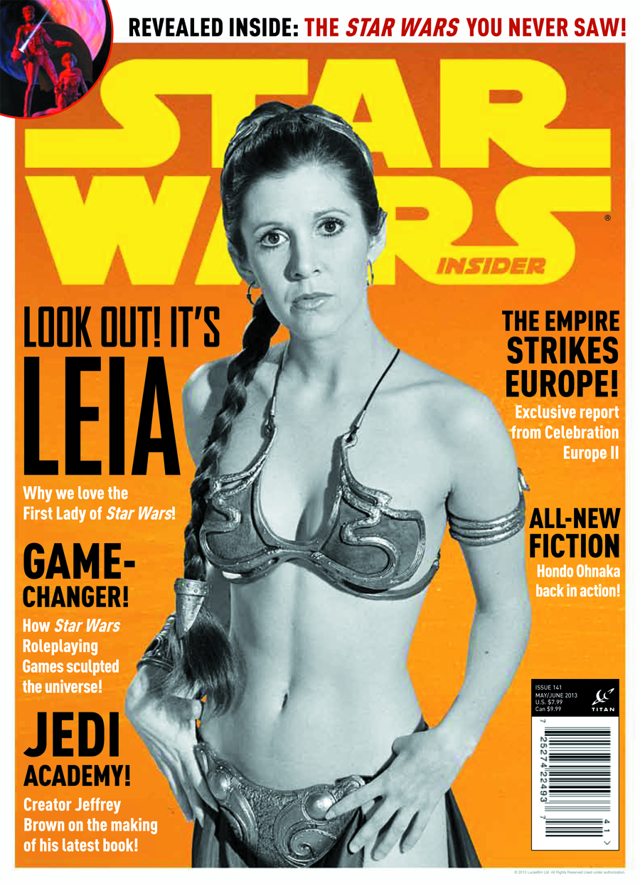 STAR WARS INSIDER #144 NEWSSTAND ED
