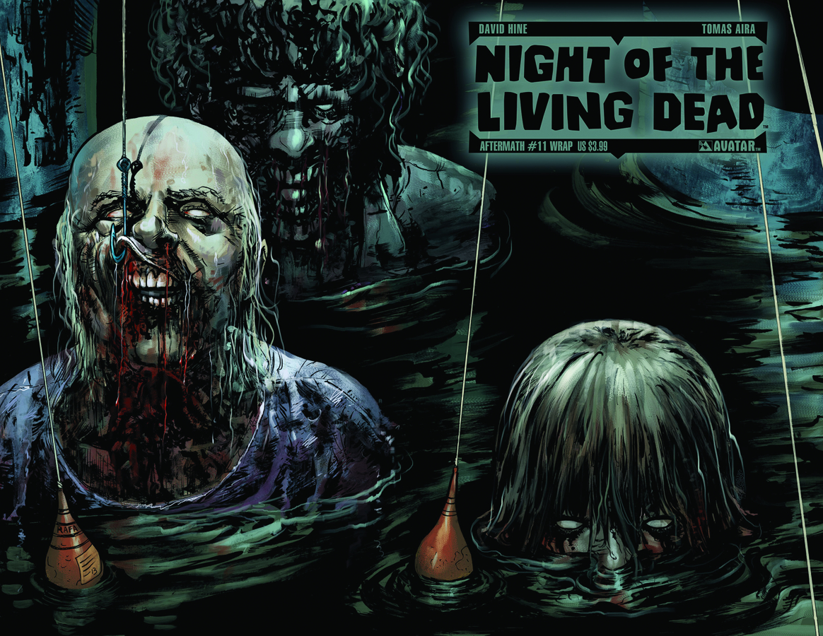 NIGHT O/T LIVING DEAD AFTERMATH #11 WRAP CVR