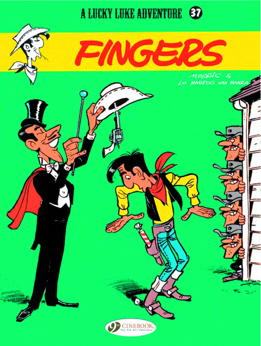 LUCKY LUKE TP VOL 37 FINGERS
