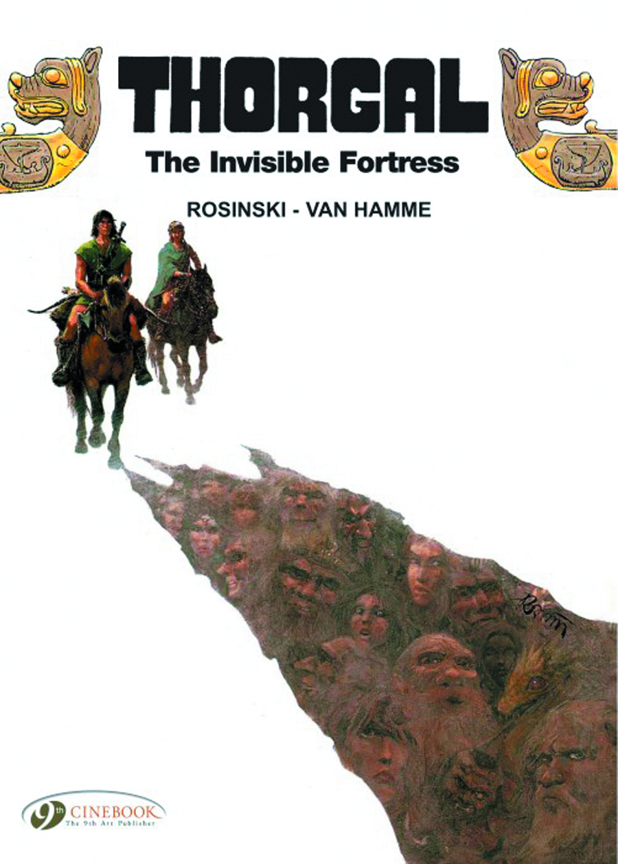 THORGAL GN VOL 11 INVISIBLE FORTRESS