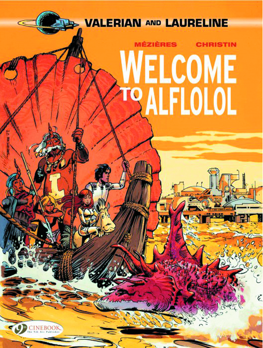 VALERIAN GN VOL 04 WELCOME TO ALFLOLOL